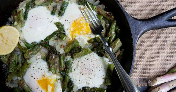 Asparagus, Eggs and Roots on Pinterest
