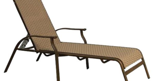 Wayfair - Island Breeze Chaise Lounge  Outside  Pinterest  Lounges ...
