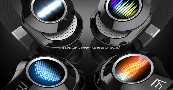 Visual headphones show others what tunes you're crankin'