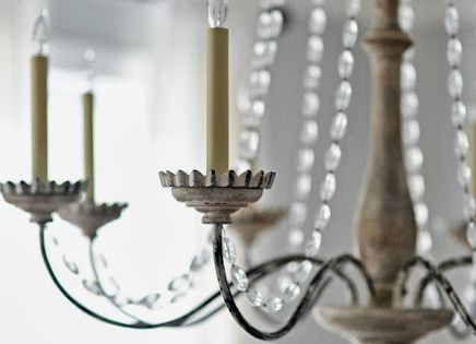 Dear lillie oct 39 13 chandelier from savvy home Savvy home and garden