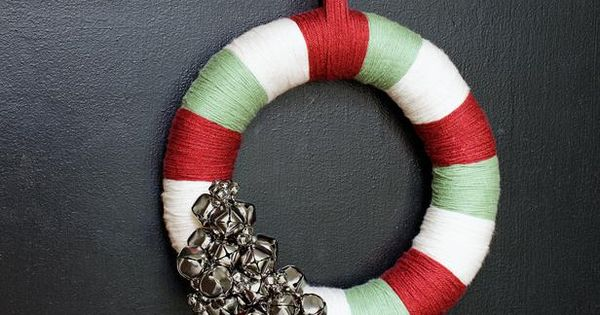 Adorn Your Front Door - Use a bright wreath that won't dry
