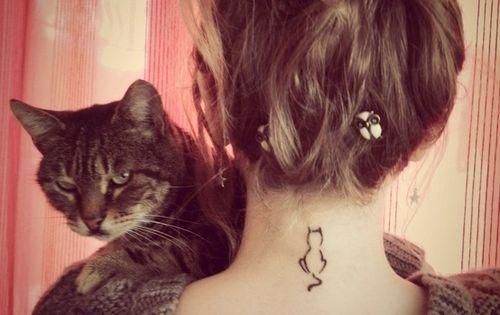 cat tattoo, i want a kitty tattoo!
