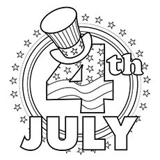 Top 35 Free Printable 4th Of July Coloring Pages Online (With ...