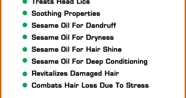 11 amazing benefits of sesame oil for hair  u2013 must try