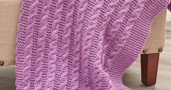 Knitting Bias Stockinette : Easy afghan knitting patterns stockinette and garter stitch