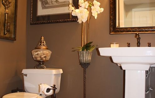 Behr Mocha Latte- Paint Color love the wall color and the white