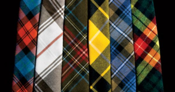 mmmmm plaid ties are the new fall trend.