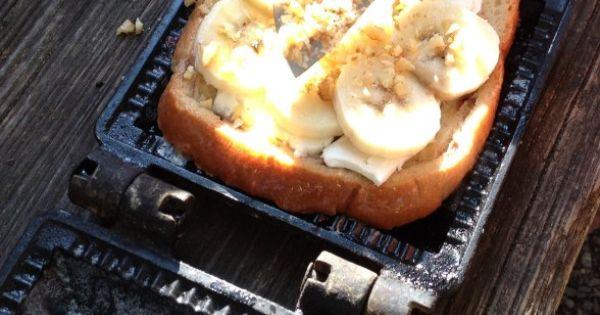 Banana Walnut French Toast In Pudgie Pot Pie Maker