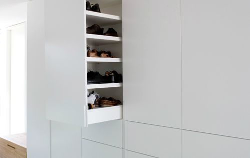 am nagement du placard chaussures home pinterest. Black Bedroom Furniture Sets. Home Design Ideas