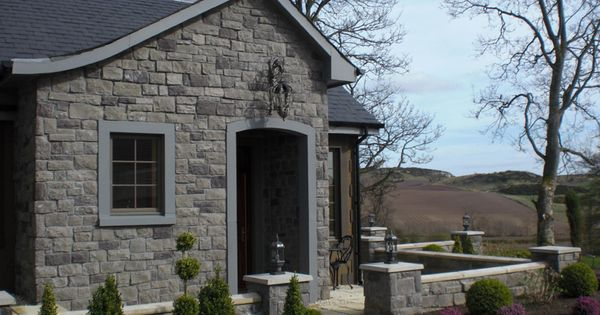 Stone Type Cobblefield Gray For Our Fireplace Home Pinterest Stone Exterior Stone