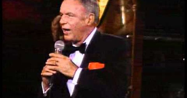 Frank Sinatra I Get A Kick Out Of You Live Performance Concert Frank Sinatra Sinatra Frank Sinatra My Way