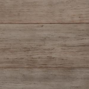 Home Decorators Collection Hand Scraped Strand Woven Earl Grey 3 8 In T X 5 1 8 In W X 36 In L Engineered Click Bamboo Flooring Am1502e The Home Depot Bamboo Hardwood Flooring