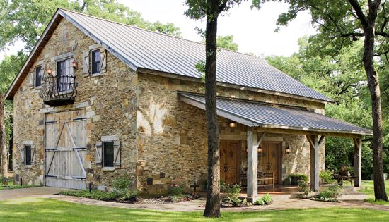 Cool old barn house
