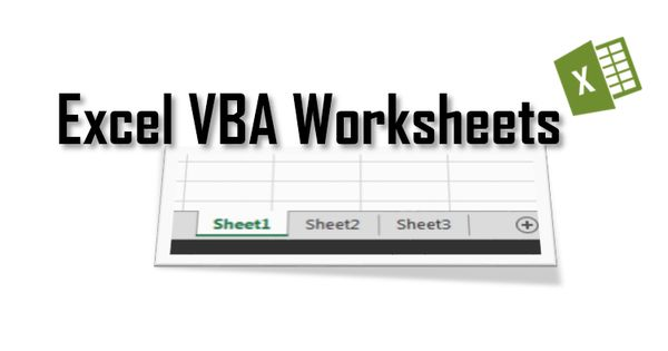Excel Worksheets Tutorial Vba Activesheet Vs Worksheets Worksheets Excel Tutorial Excel vba get active worksheet name