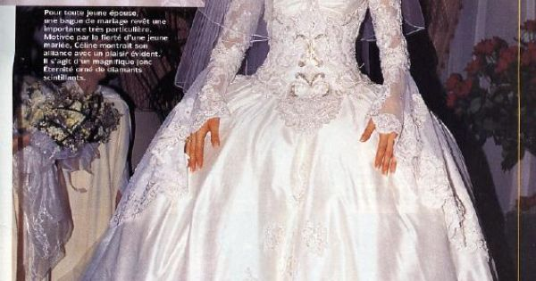 Celine Dion | Celebrity Wedding Dresses | Pinterest ...