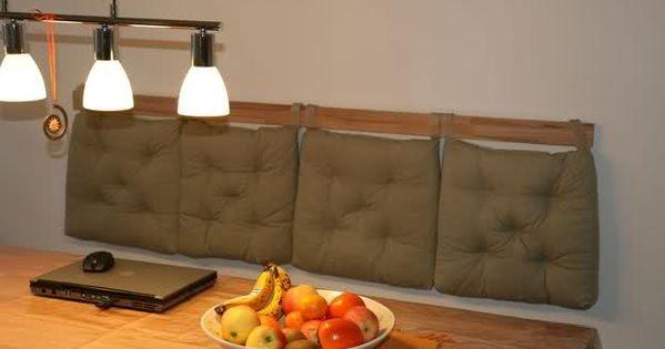 bank ohne lehne an der wand k che pinterest w nde. Black Bedroom Furniture Sets. Home Design Ideas