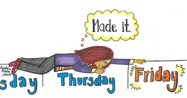 We Made A Wish And It Was You We Made: Finally… It's Friday! [Illustration