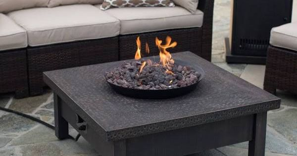 Gas Fire Pit Coffee Table Diy Projects Pinterest