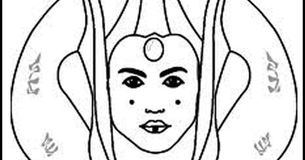 Star Wars Coloring Pages Padme Amidala Coloring Pages