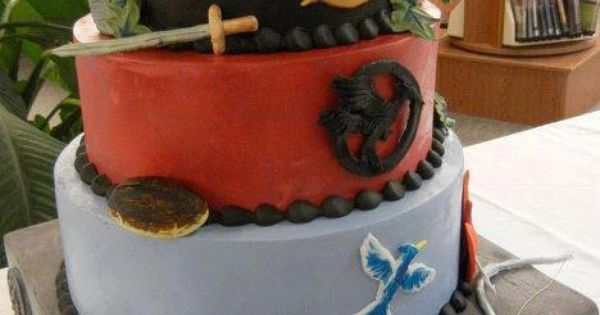 I.. wish! Hg themed cake