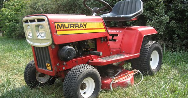 Murray 11 Lawn Tractor Riding Mower Made In 1980 Near