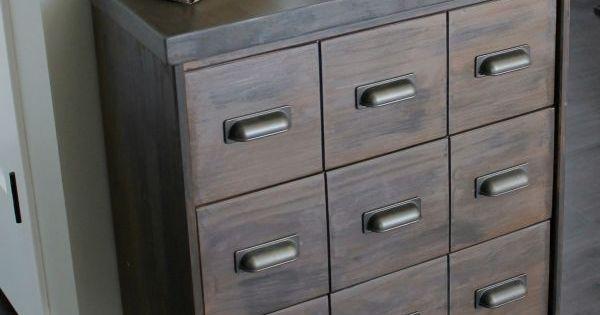 kuchenschranke abhangen : Apothecary Cabinet Ikea Rast Hack K?chenschr?nke, Apotheker und ...