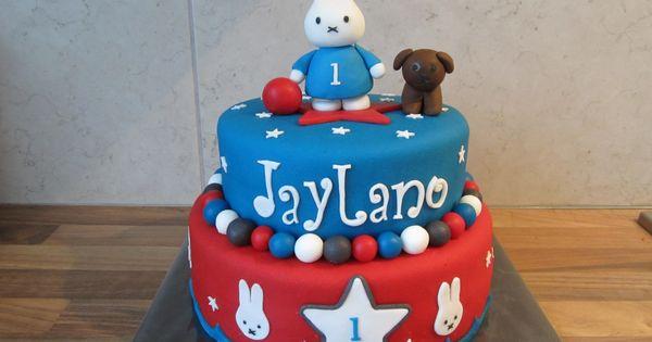 Nijntje taart taart decoratie voorbeelden pinterest for Taart en decoratie