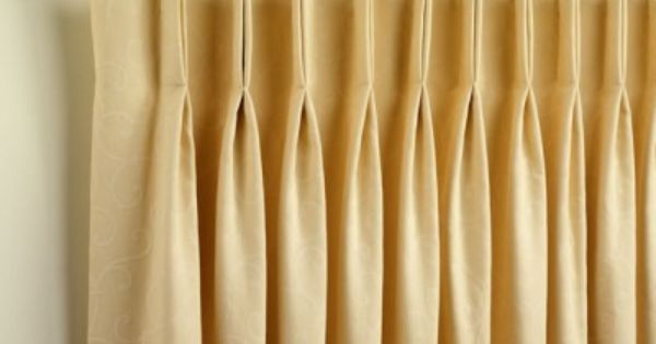 How To Sew Curtains