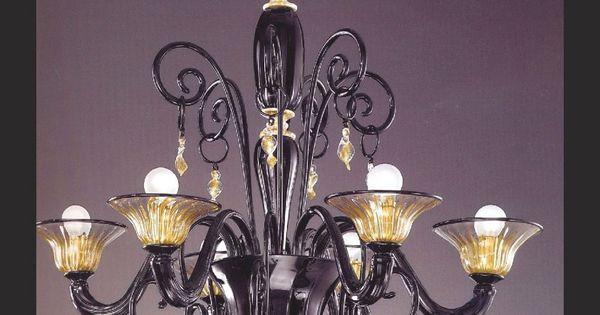 Lampadari in vetro di murano Glass murano luxury lighting ...