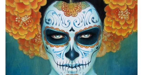 masque mexicain mort recherche google pour stivix pinterest maquillage de t te de mort. Black Bedroom Furniture Sets. Home Design Ideas
