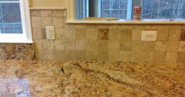 backsplash for busy granite countertops diana g solarius