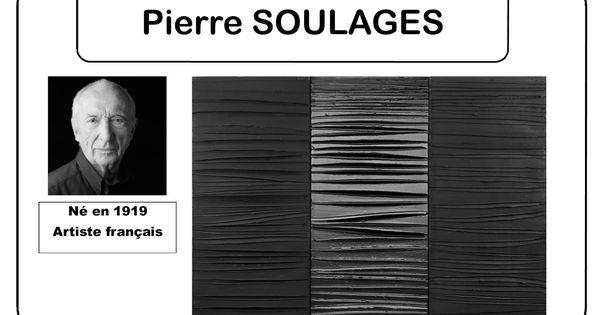 Pierre soulages portrait d 39 artiste en ms art pla la for Affiche pierre soulages
