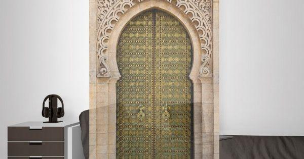 Raumteiler vorhang oriental gate 250x120cm for Raumteiler stoff