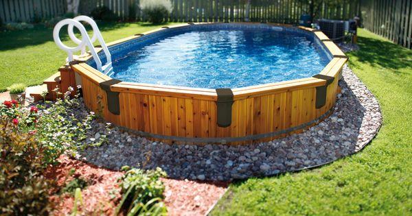 piscine semi creus e tr vi piscines semi creus es pinterest backyard ground pools and. Black Bedroom Furniture Sets. Home Design Ideas