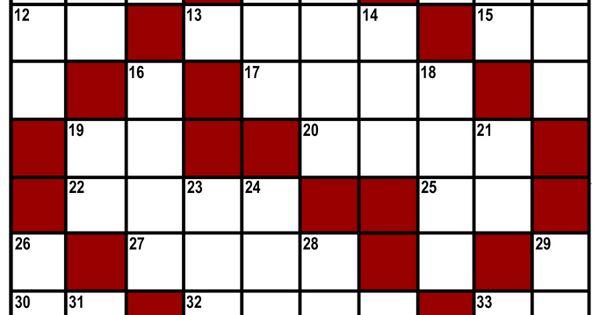Kids Printable Crossword Puzzle Kids Fun Pinterest