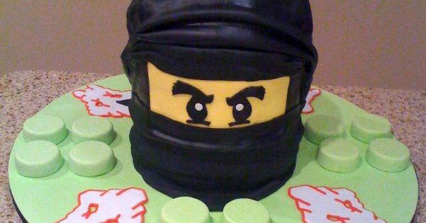 LEGO Ninjago Cake Ideas cakepins.com