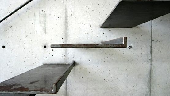 simple metal stair, Uno Tomoaki Stairs | Remodelista modern steel stairs
