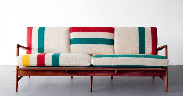Hudson Bay Sofa | Colorful, Creative, Comfy Couches. Would be amazing in