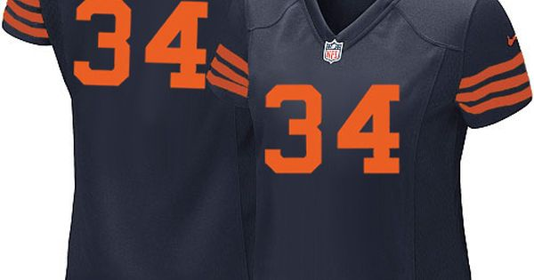 fcfe2dcc ... Nike Chicago Bears Walter Payton Elite 1940s Jersey Women Navy Blue 34  Alternate Throwback NFL Jerseys ...