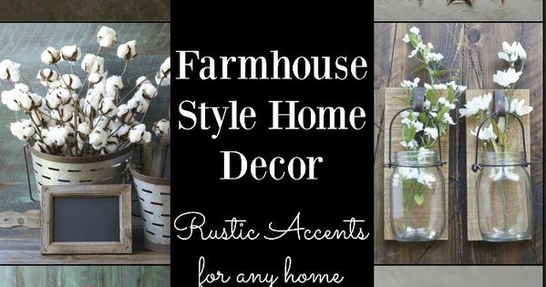 Cheap Farmhouse Style Decor! Galvanized Metal And Cotton