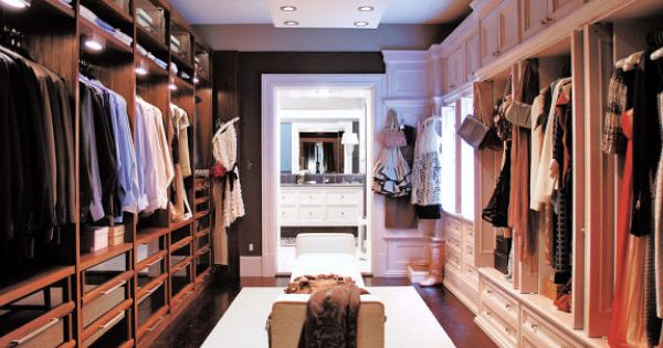 Walk-In Closet Ideas | The Dream House Project: My Walk In Closet