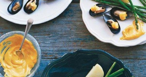 Mussels, Mayonnaise and Mayonnaise recipe on Pinterest