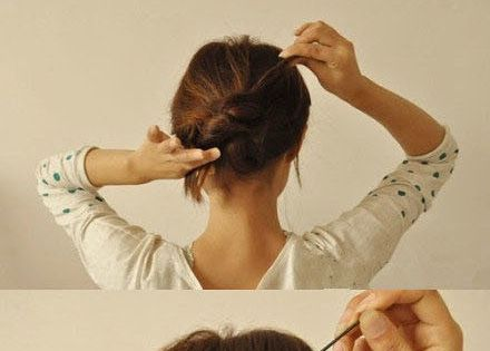 DIY Updo Hair Style diy easy diy diy beauty diy hair diy