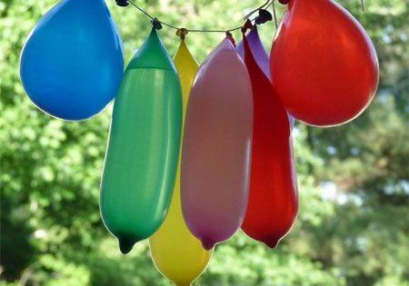 Water Balloon Piñata - Great summer party idea