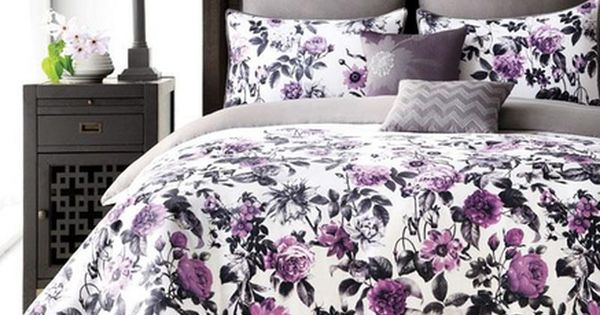 Whole Home Md 39 39 Photo Floral 39 39 8 Piece Comforter Set Sears Sears Canada Home Bedroom