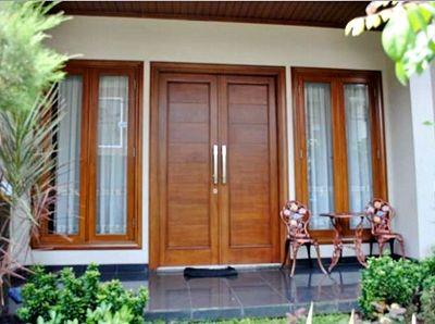 kumpulan daftar harga kusen kayu jendela dan pintu jati