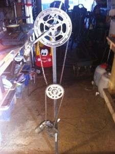 Bike Sprockets With Windshield Wiper Motor Rotisserie Pig