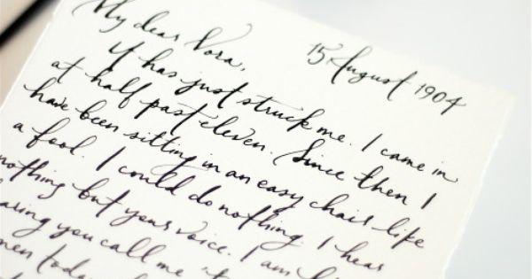 Calligrapher extraordinaire Brynn Chernoff