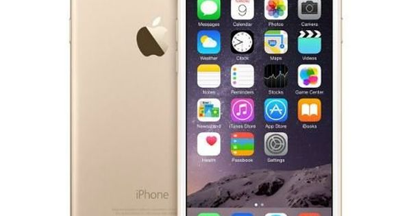 Gold Apple refurbished reconditioned iPhone 6
