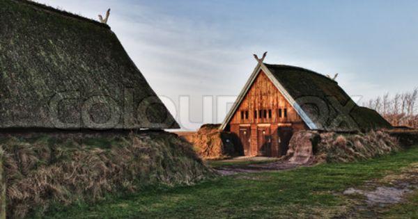 Image Of Viking Helmets Historical Scandinavian Architecture Norwegian Architecture Viking House